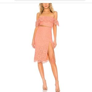 NEW NWT NBD Keely Dress in Sherbet